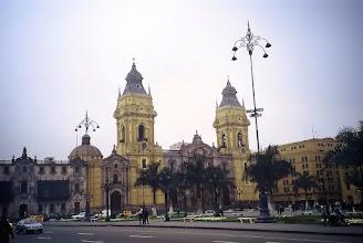 Photo: Lima, katedra na Plaza de Armas / Cathedral at the Plaza de Armas