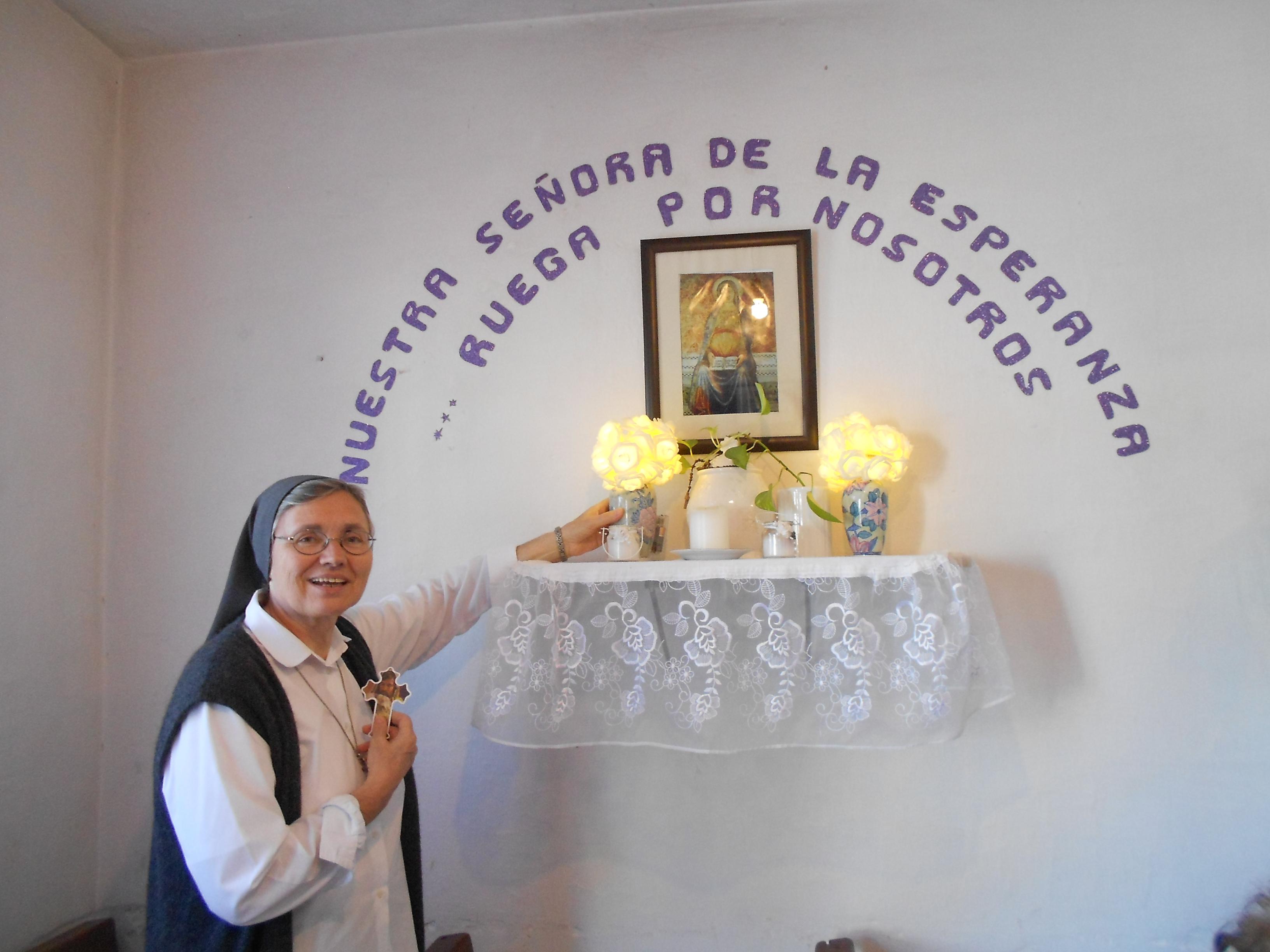 Photo: Visita a la Capilla Nuestra Señora de la Esperanza