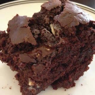 Delicious Healthy Fudge Brownies.