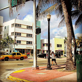 Miami Deco by Stephen Lang - Buildings & Architecture Architectural Detail