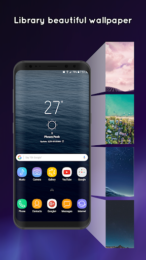 S9 Launcher - Galaxy S9 Launcher screenshot 2