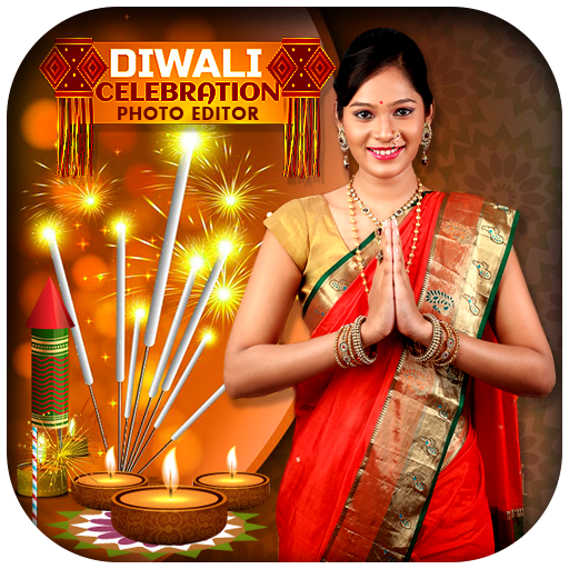 Diwali Photo Editor and Multi Frames 2017