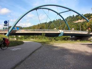 Photo: interessante Neckarbrücke