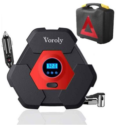 Voroly Heavy Duty Automatically Shut Off Car Air Compressor Tyre Inflators