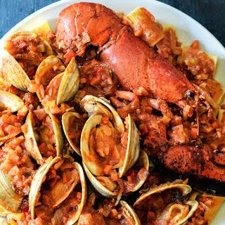 Clams & Lobster Enchilado Recipe