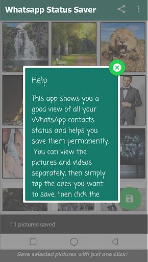 Status Saver : Download status for whatsapp 2020 1.8 screenshots 13