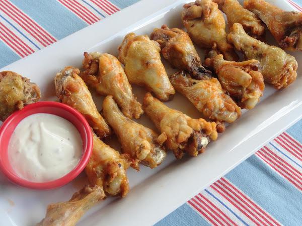 Linda's Hot Lemon-herb Chicken Wings Recipe