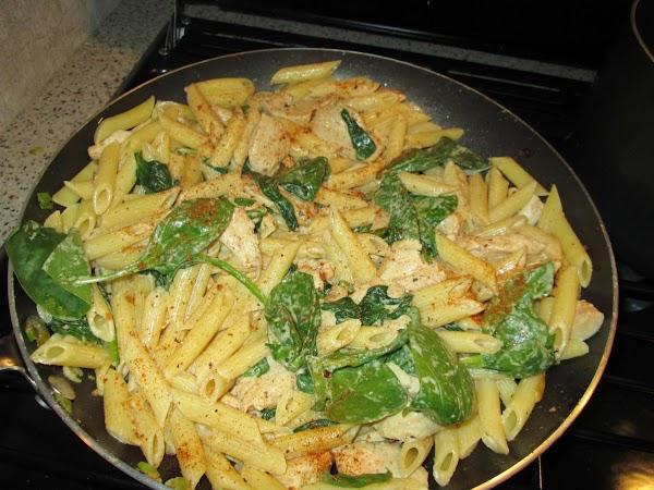Chicken Spinach Alfredo Recipe