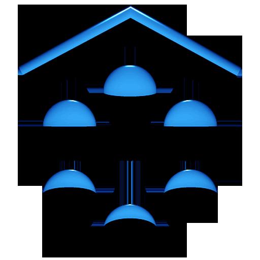 A-BLUE Smart Launcher Theme APK Cracked Download