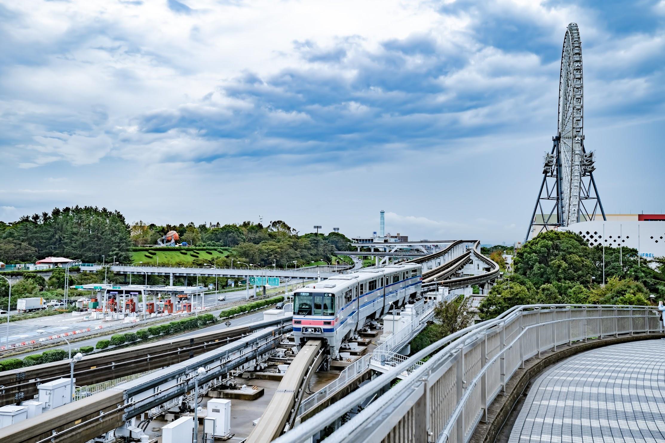 万博記念公園駅 モノレール