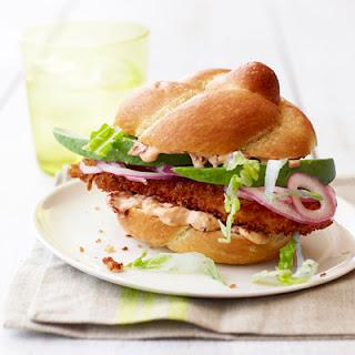 Chipotle Fried-Chicken Sandwiches