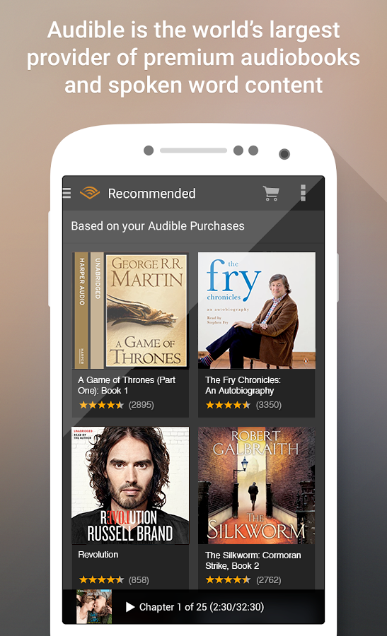how to get audiobooks on google play