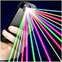 Laser 100 Beams Funny Prank icon