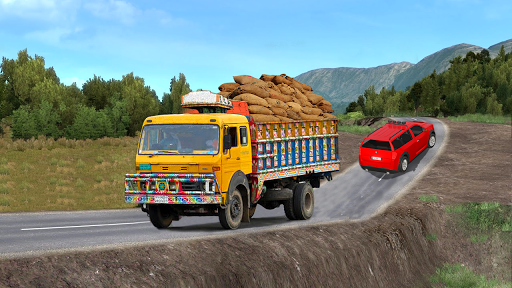 Real Indian Cargo Truck Simulator 2020: Offroad 3D 1.0 screenshots 4