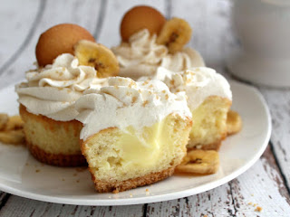 Banana Cream Pie Cupcakes~robynne Recipe