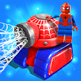 Merge Tanks: Funny Spider Tank Awesome Merger icon