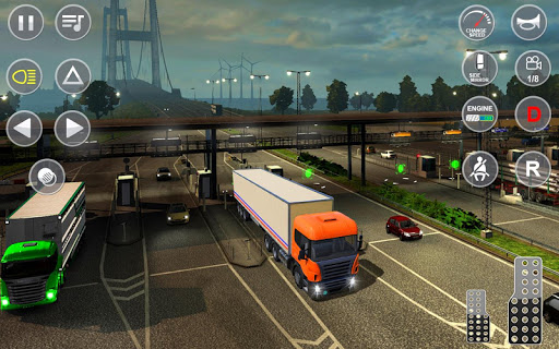 Euro Truck Transport Simulator 2: Cargo Truck Game screenshots 4