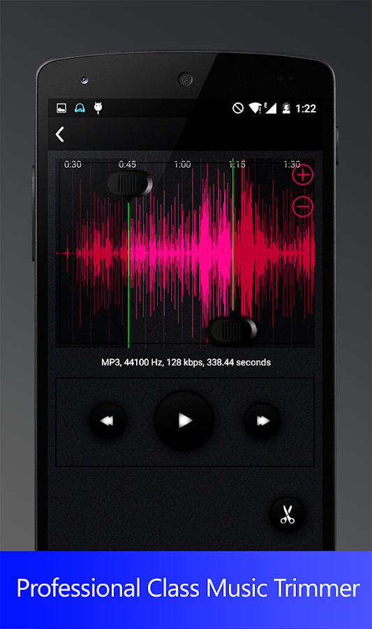 video audio cutter- screenshot
