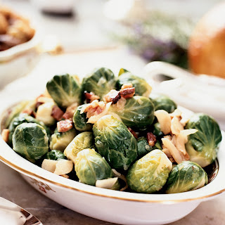 Brussels Sprouts with Onion and Bacon