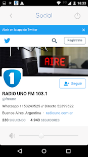 Radio Uno FM 103.1 HD- screenshot thumbnail