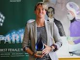 Aline Zeler succède à Tessa Wullaert  et reçoit le Sparkle