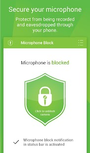 Mic Block - Anti spy & malware- screenshot thumbnail