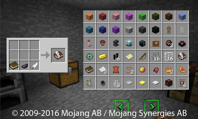 Crafting Guide for Minecraft - screenshot