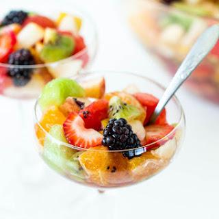Boozy Fruit Salad.
