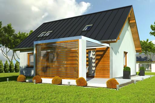 projekt Marcin II bez garażu B1