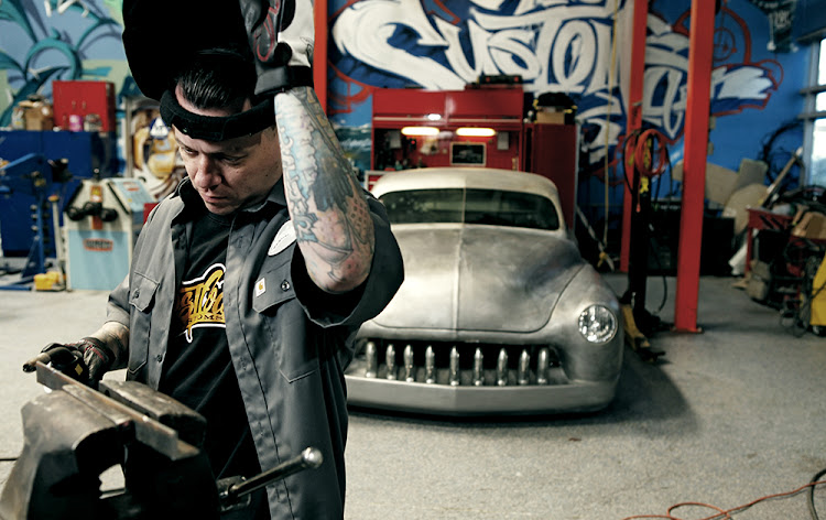 Inside West Coast Customs.