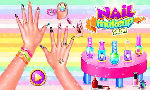 Nail makeup Kit: Fashion doll girls games 2020 apkdebit screenshots 1