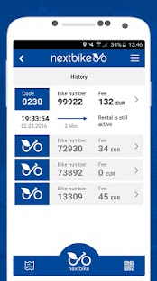 nextbike- screenshot thumbnail