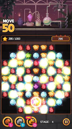 لعبة Jewel Alchemist: مطابقة 3 لقطات من الألغاز 5