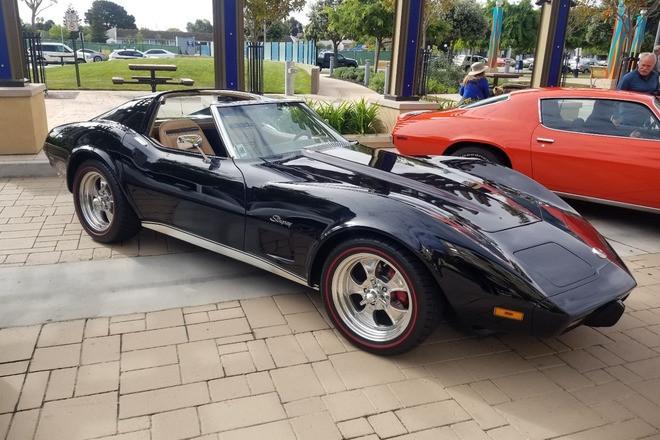 1975 Corvette Stingray Hire CA