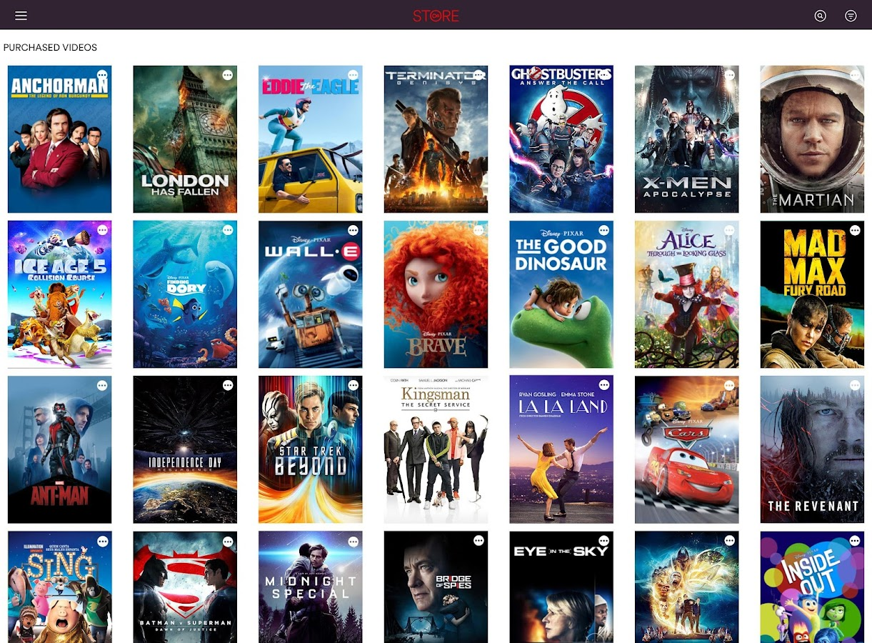 Virgin Media Store- screenshot