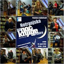Photo: Notranjska poNOČi KNJIGE prebira v Knjižnici Jožeta Udoviča Cerknica. (Foto Miloš Toni)