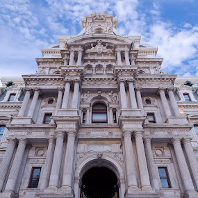 City Hall by Michael Sharp - Buildings & Architecture Architectural Detail ( city hall, pa, buildings, pennsylvania, philadelphia, united states, city )