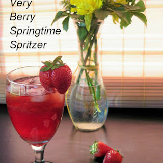 Very Berry Springtime Spritzer.