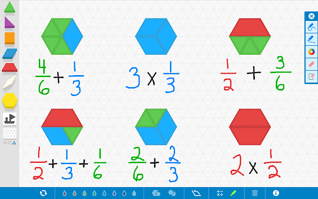 Pattern Shapes By The Math Learning Center Chrome Web Store