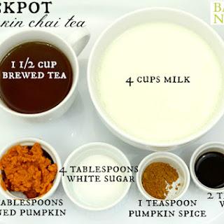 Crockpot Chai Tea