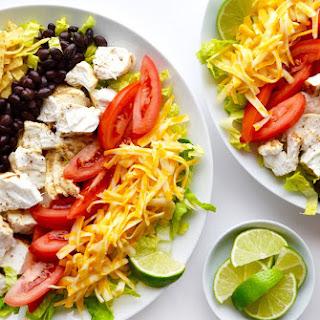 Fish Taco Salad with Avocado Dressing Recipe