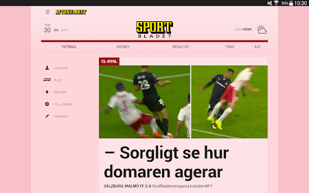 Aftonbladet 4.0.40 screenshot 623618