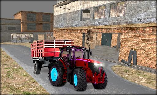 Industrial Tractor Parking SIM
