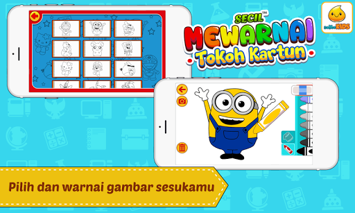 Mewarnai Kartun 1.0.3 screenshots 2
