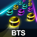 BTS Road Tiles: KPOP Colour Ball Dancing Road Run! icon