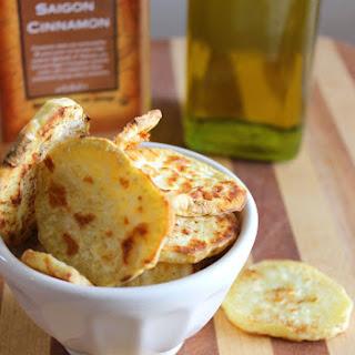 Cinnamon Roasted Sweet Potato Chips.