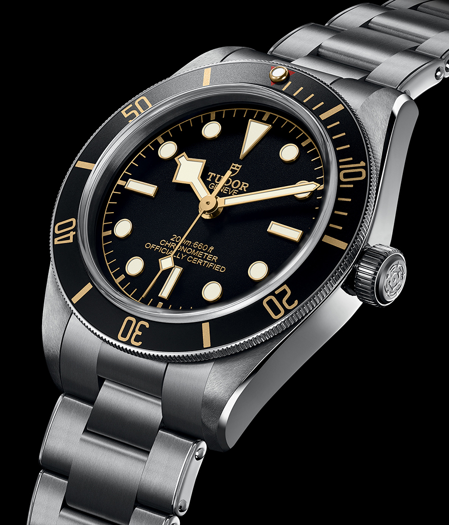 The Tudor Black Bay Fifty-Eight on steel bracelet will retail for around R45,000