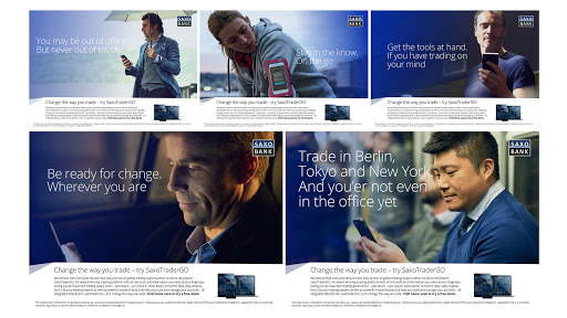 Brand awareness for the Saxo brand and SaxoTraderGo  preview