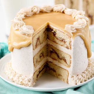 Snickerdoodle Caramel Layer Cake