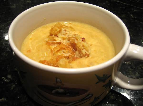 Wisconsin Beer Cheese Soup With Fried Cheese Curds